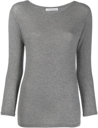 Stefano Mortari striped long sleeved T-shirt