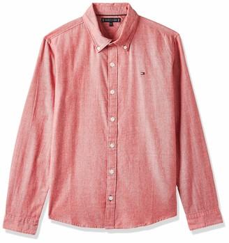 Tommy Hilfiger Boys Essential Twill Oxford Shirt L//S