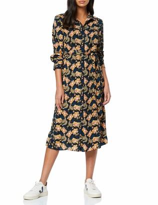 Find. Amazon Brand Women's Mini Floral Shirt Dress