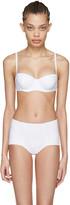 Dolce & Gabbana White Wired Bikini Top