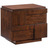 Zuo Modern San Diego 2-Drawer Nightstand