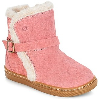 Citrouille et Compagnie JERRADJE girls's Mid Boots in Pink