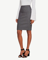 Ann Taylor Textured Pencil Skirt