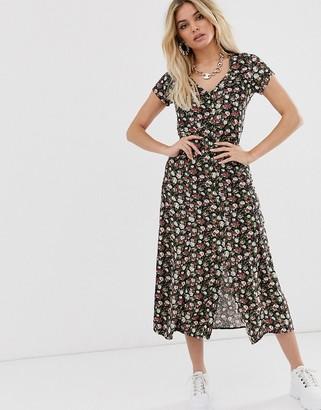 Motel maxi dress in vintage floral