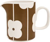 Orla Kiely Abacus Brown Milk Jug