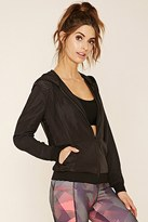 Forever 21 FOREVER 21+ Active Perforated Windbreaker