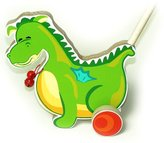 ToyCentre Hess Wooden Baby Riding Dragon Alfonso Toy