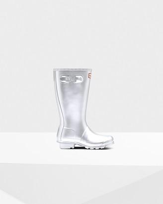 Hunter Original Big Kids Metallic Rain Boots