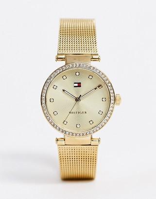 Tommy Hilfiger 1781864 Lynn mesh watch in gold
