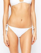 South Beach Mix and Match Tie Side Bikini Bottom