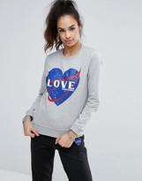 Love Moschino Spacestation Sweatshirt