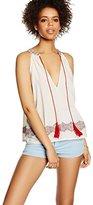Les Petites Women's Sleeveless Blouse - White -