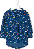 Stella McCartney 'Skating' print coat