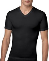 Spanx Cotton Compression V-Neck T-Shirt, M