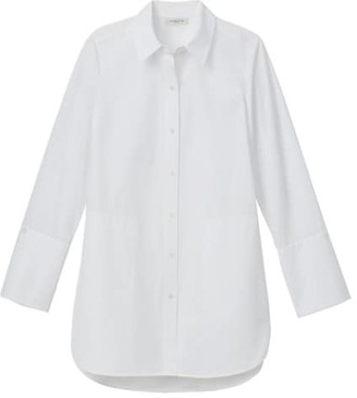 Lafayette 148 New York Wilkes Italian Cotton Shirt