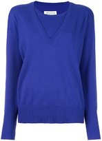 Maison Margiela cashmere layered pullover sweater - women - Cashmere - M