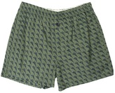 Tommy Bahama Marlin Madness Boxers (Green Pt) - Apparel