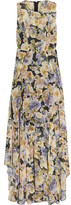 Needle & Thread Floral-Print Chiffon Gown
