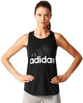 adidas Women's Essential Linear Logo Tank