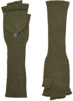 Barneys New York WOMEN'S FINGERLESS GLOVES
