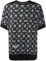 Kokon To Zai monogram T-shirt - unisex - Cotton - S