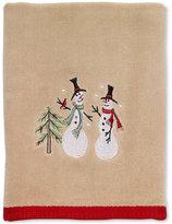 Avanti Tall Snowman Hand Towel