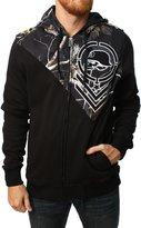 Metal Mulisha Men's Hidden Full Zip Hoodie-XL