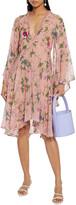 Thumbnail for your product : Anjuna Raffaella Embellished Floral-print Silk-chiffon Mini Dress