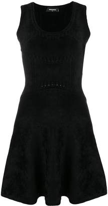 DSQUARED2 sleeveless short dress