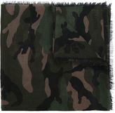Valentino camouflage scarf - men - Silk/Cashmere - One Size