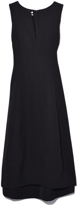 Co Sleeveless Tulip Dress in Black