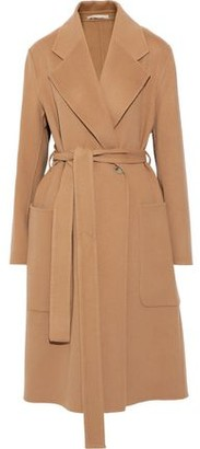 Acne Studios Carice Belted Wool And Cashmere-blend Felt Coat