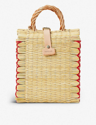 The Conran Shop Toino Abel Rosa woven bag