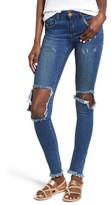 One Teaspoon Women's Ripped Skinny Jeans