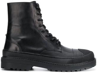Neil Barrett military boots