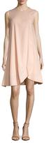 Balenciaga Front Wrap Shift Dress
