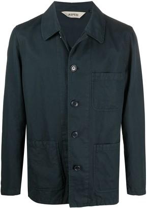 Aspesi Multi-Pocket Shirt Jacket