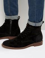 Aldo Cadirama Suede Zip Boots