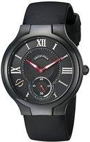 Philip Stein Teslar Black Watch with Rubber Band