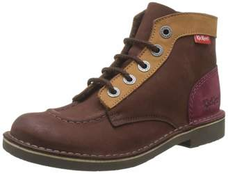Kickers Kick Col Classic Boots Unisex Child. Multicolour Size: 5 UK