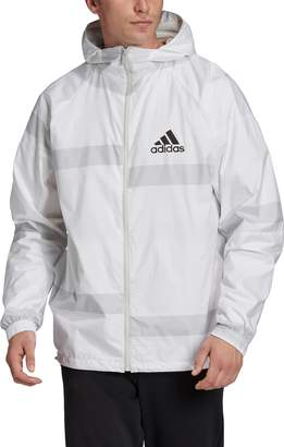 adidas Water Repellent Hooded Windbreaker