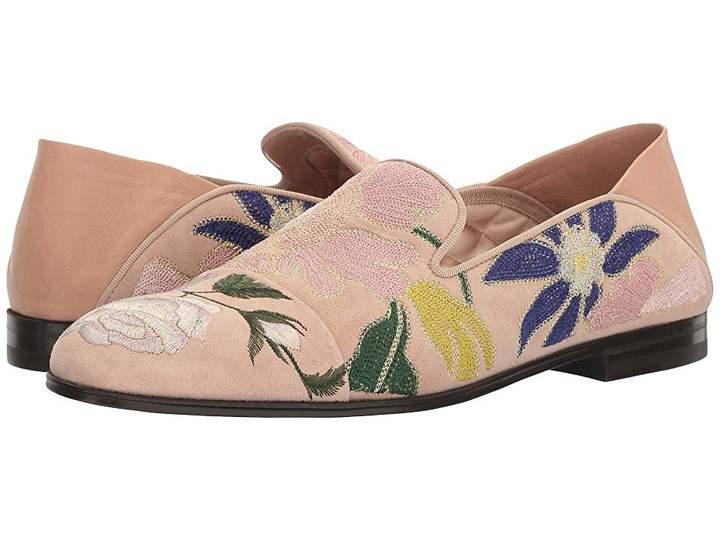Alexander McQueen Scarpa Pelle S.Cuoio Women's Flat Shoes