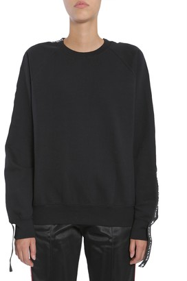 Couture Forte Sweatshirt With Side Logo Band