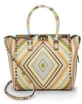 Valentino Garavani Geometric Leather Shoulder Bag