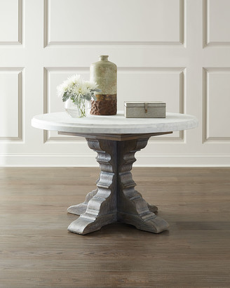 Hooker Furniture Turow Marble Top Dining Table