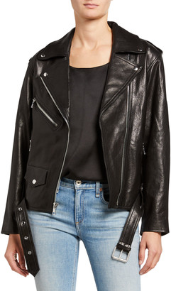 RtA Eryn Leather Moto Jacket