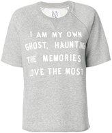Zoe Karssen quote T-shirt - women - Cotton/Polyester - M