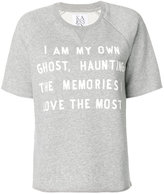 Zoe Karssen quote T-shirt - women - Cotton/Polyester - XS