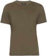A.P.C. Short-sleeved cotton T-shirt