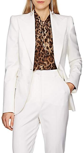 Dolce & Gabbana Women's Turlington Virgin Wool-Blend Blazer - White